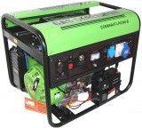 Газовый генератор GREEN POWER CC6000 XT-NG/LPG/380